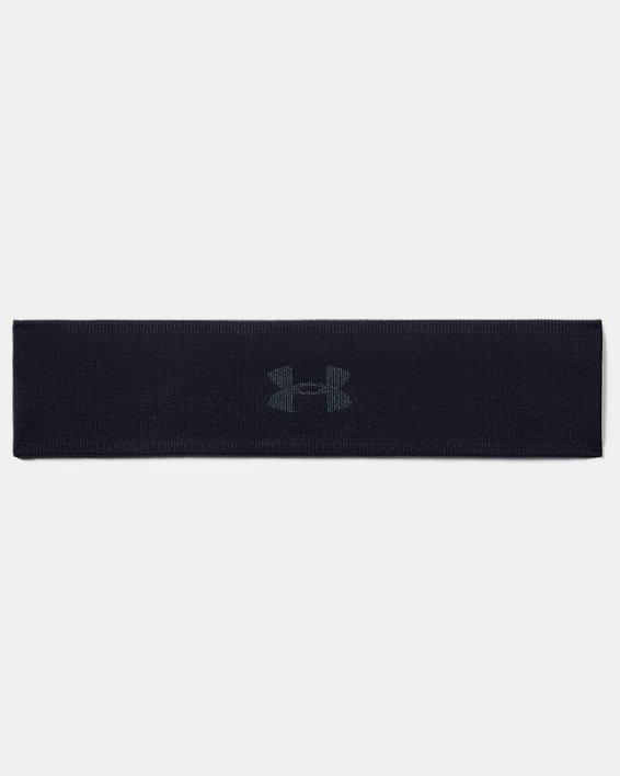 Women's UA Jacquard Perfect Headband, Black, pdpMainDesktop image number 0