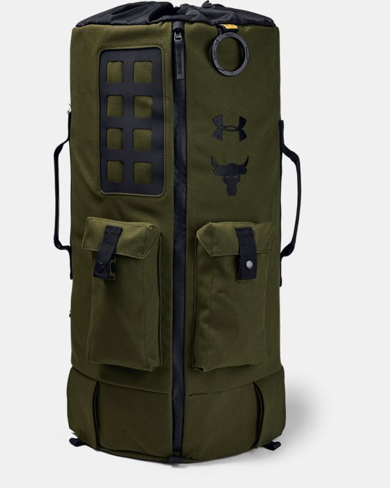 Men's Project Rock 90 Bag, Green, pdpMainDesktop image number 1