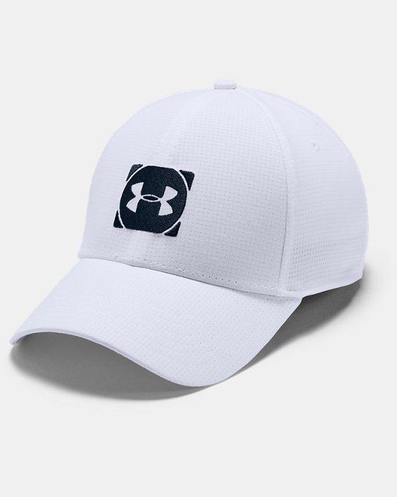 Men's UA Tour 3.0 Cap, White, pdpMainDesktop image number 0