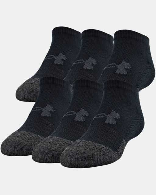Kids' UA Performance Tech No Show Socks – 6-Pack