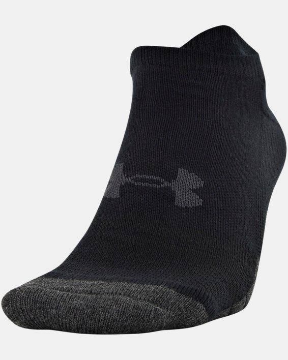 Adult UA Performance Tech No Show Socks 6-Pack, Black, pdpMainDesktop image number 2