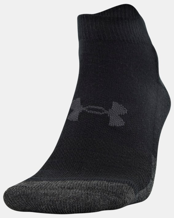 Unisex UA Performance Tech Low Cut Socks 6-Pack, Black, pdpMainDesktop image number 1