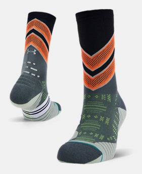 5a4320864fb Men's UA x Stance Infinite Run Crew Socks 1 Color Available $20