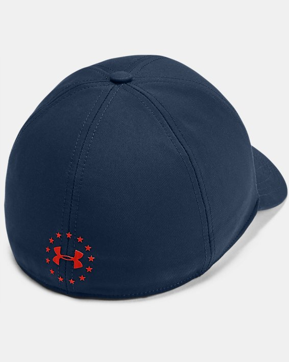 Project Rock STR Cap, Navy, pdpMainDesktop image number 1