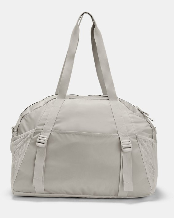 Women's Project Rock Gym Bag, White, pdpMainDesktop image number 2
