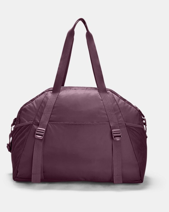 Women's Project Rock Gym Bag, Purple, pdpMainDesktop image number 1