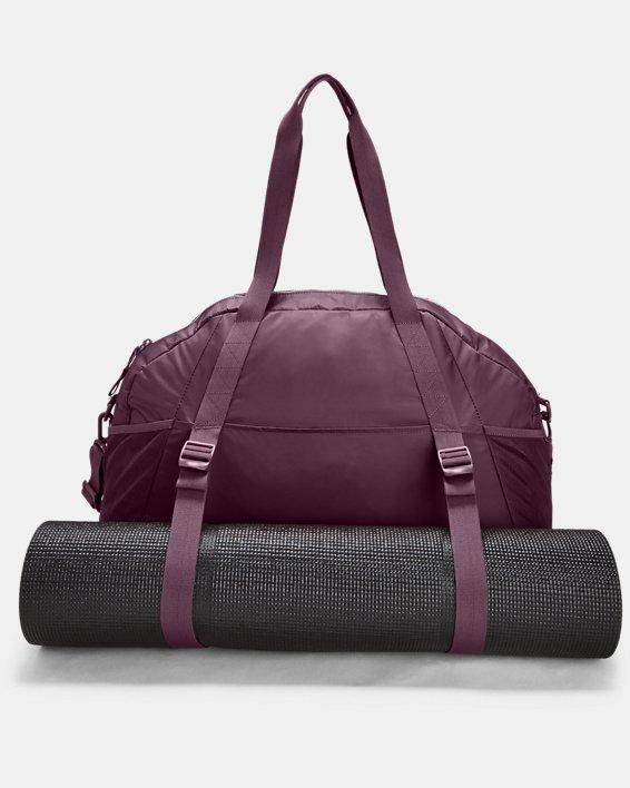 Women's Project Rock Gym Bag, Purple, pdpMainDesktop image number 2