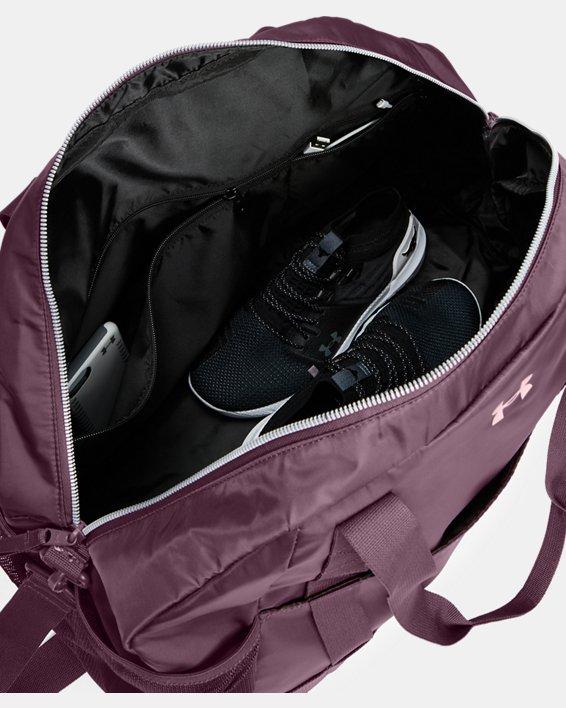 Women's Project Rock Gym Bag, Purple, pdpMainDesktop image number 3
