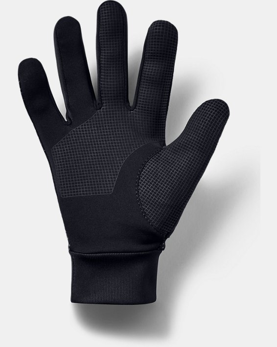 Men's UA Core Liner Gloves, Black, pdpMainDesktop image number 1