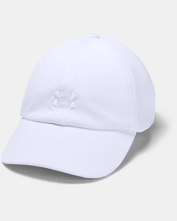 Women's UA Play Up Cap, White, pdpMainDesktop image number 0