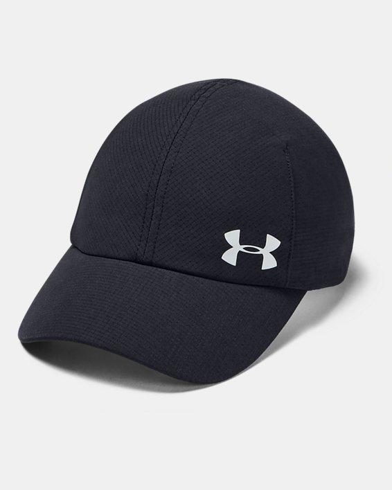 Women's UA Launch Run Cap, Black, pdpMainDesktop image number 0
