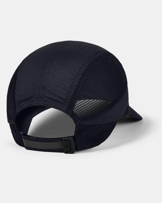 Unisex UA Iso-Chill Run Dash Cap, Black, pdpMainDesktop image number 1