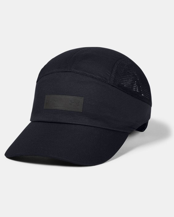 Unisex UA Iso-Chill Run Dash Cap, Black, pdpMainDesktop image number 0
