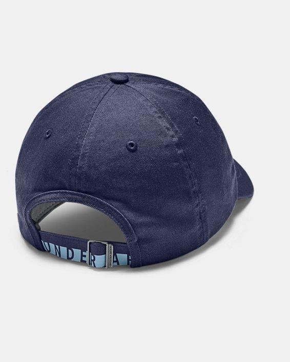 Women's UA Cotton Golf Cap, Blue, pdpMainDesktop image number 1