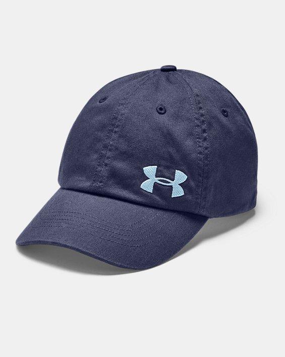 Women's UA Cotton Golf Cap, Blue, pdpMainDesktop image number 0