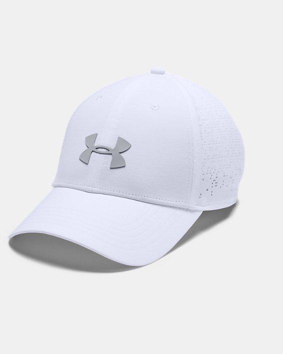 Women's UA Elevated Golf Cap, White, pdpMainDesktop image number 0