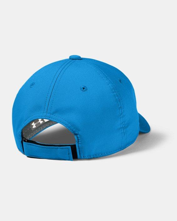 Boys' UA Baseline Cap, Blue, pdpMainDesktop image number 1
