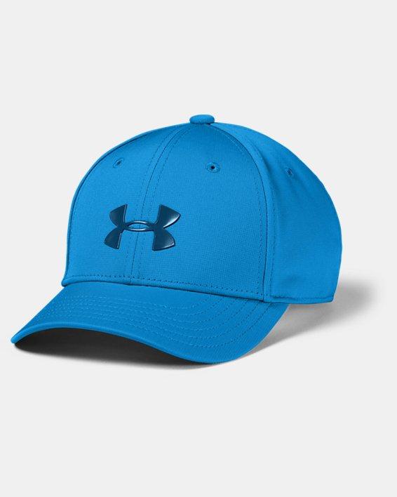 Boys' UA Baseline Cap, Blue, pdpMainDesktop image number 0