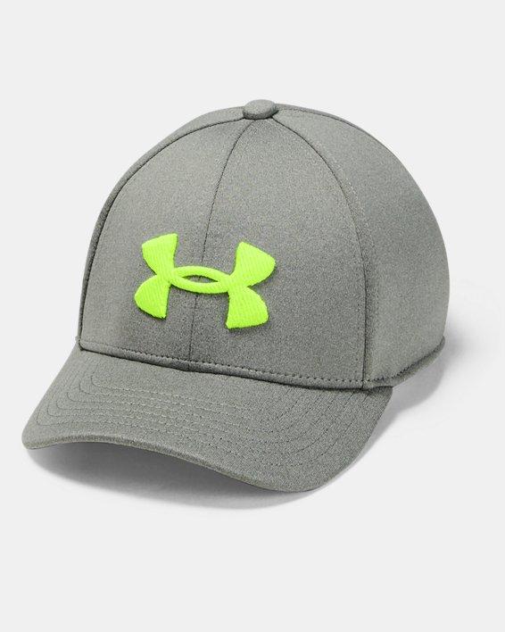 Boys' UA Armour Twist Cap, Green, pdpMainDesktop image number 0