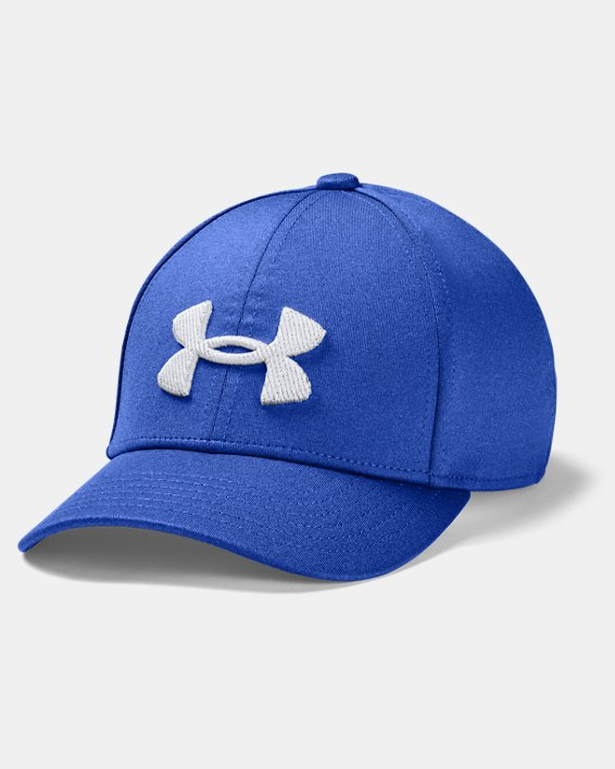 Boys' UA Armour Twist Cap, Blue, pdpMainDesktop image number 0