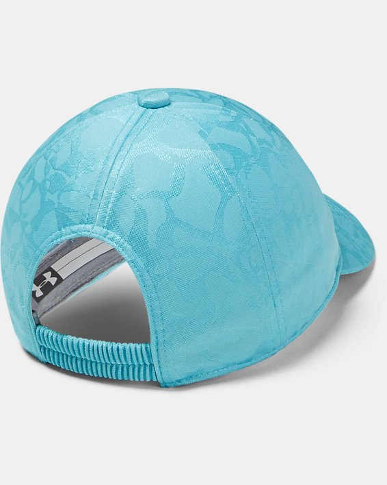 Girls' UA Play Up Cap, Blue, pdpMainDesktop image number 1