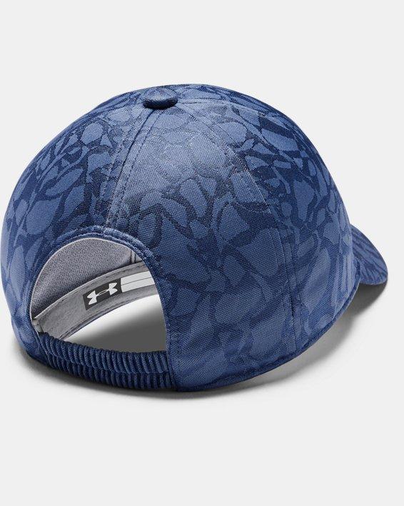 Girls' UA Play Up Cap, Blue, pdpMainDesktop image number 1