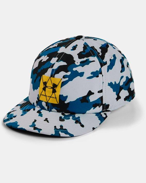Boys' UA Crossfade Cap, Gray, pdpMainDesktop image number 0