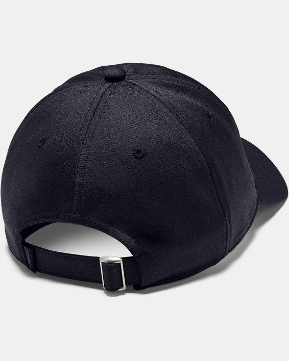 Men's UA Armour Twist Adjustable Cap, Black, pdpMainDesktop image number 1