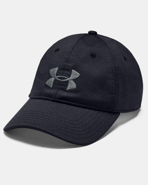 Men's UA Armour Twist Adjustable Cap, Black, pdpMainDesktop image number 0