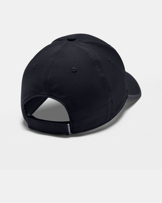 Men's UA Iso-Chill Run Structured Cap, Black, pdpMainDesktop image number 1