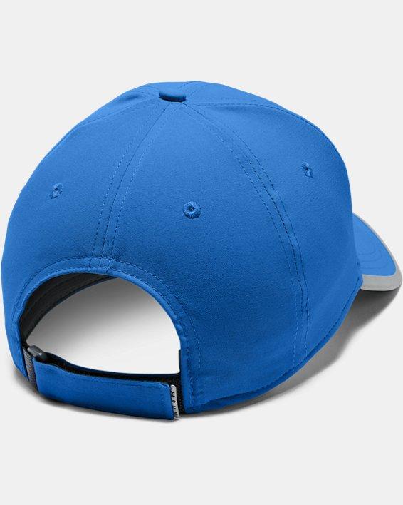 Men's UA Iso-Chill Run Structured Cap, Blue, pdpMainDesktop image number 1