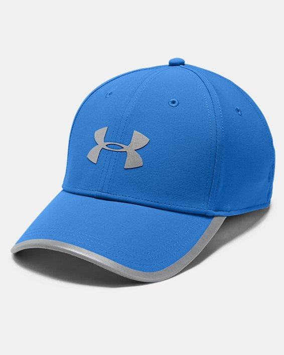 Men's UA Iso-Chill Run Structured Cap, Blue, pdpMainDesktop image number 0
