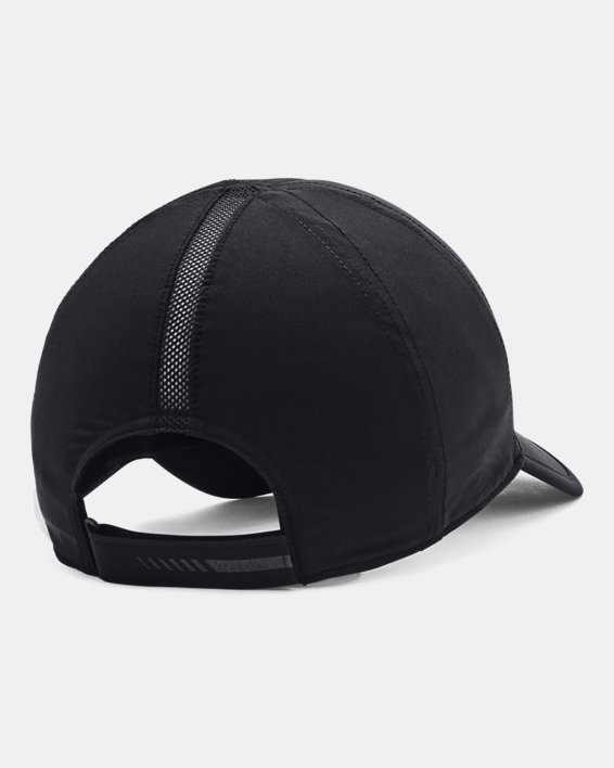 Unisex UA Run Shadow Cap, Black, pdpMainDesktop image number 1