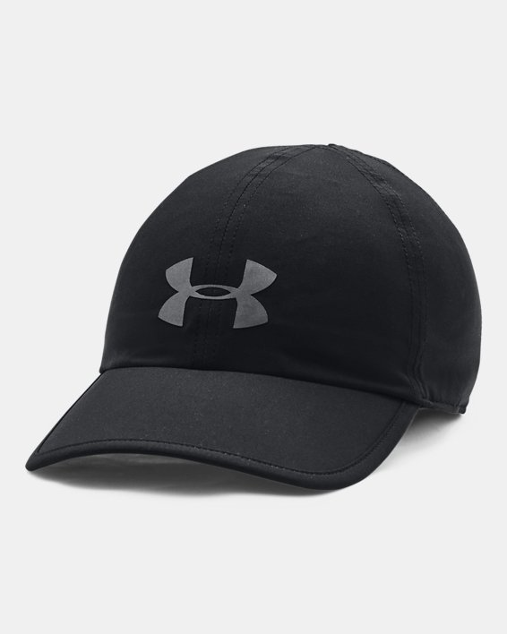 Unisex UA Run Shadow Cap, Black, pdpMainDesktop image number 0