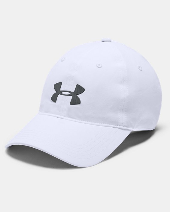 Men's UA Driver Highlight Cap, White, pdpMainDesktop image number 0