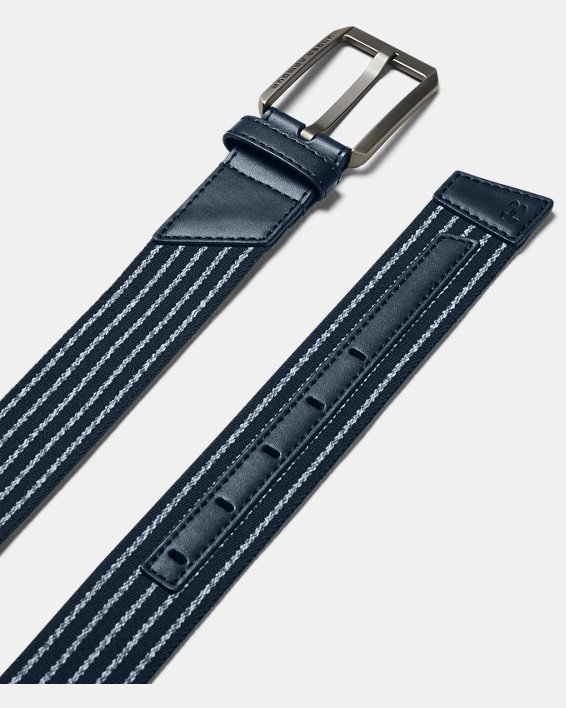 Men's UA Stretch Belt, Navy, pdpMainDesktop image number 0