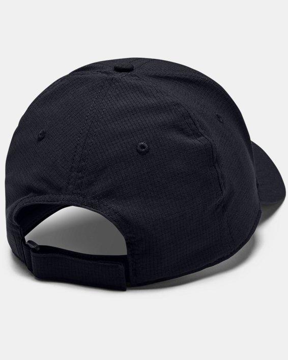 Men's UA Airvent Iso-Chill Fish Cap, Black, pdpMainDesktop image number 1