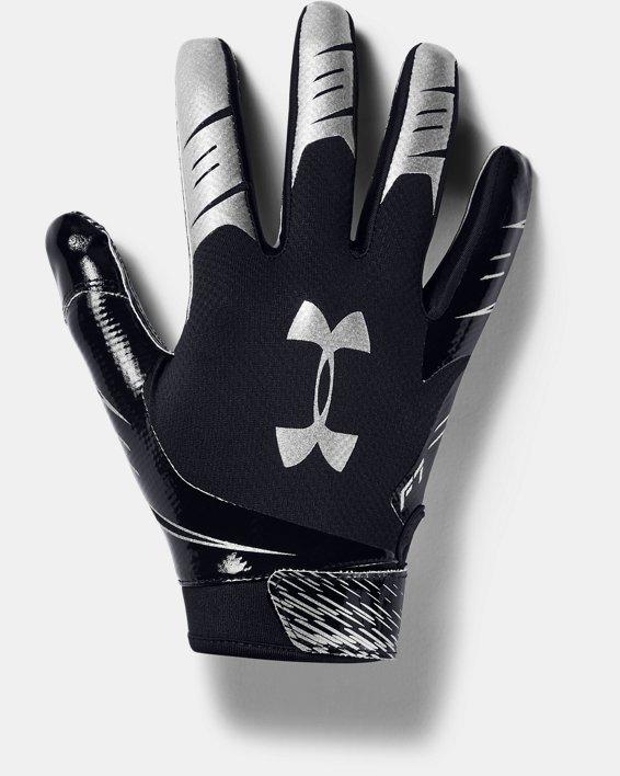 Men's UA F7 Football Gloves, Black, pdpMainDesktop image number 0