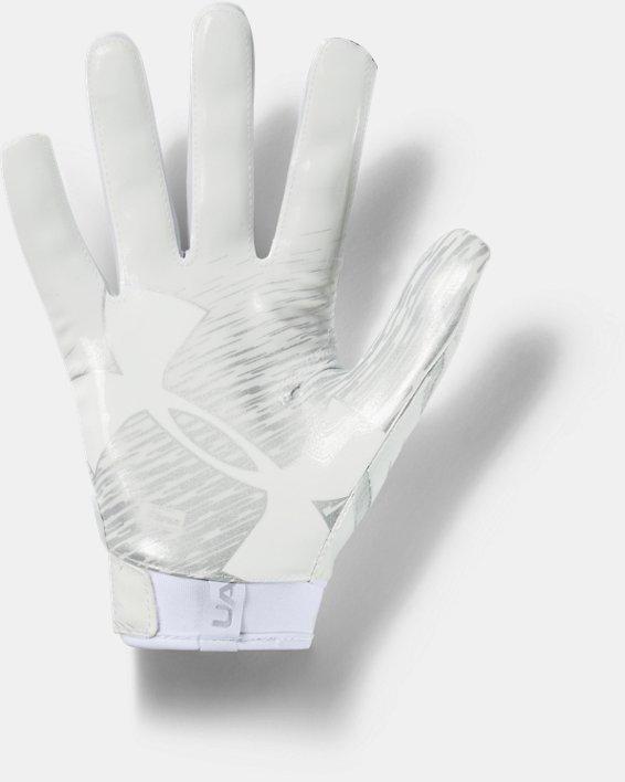 Men's UA F7 Football Gloves, White, pdpMainDesktop image number 1