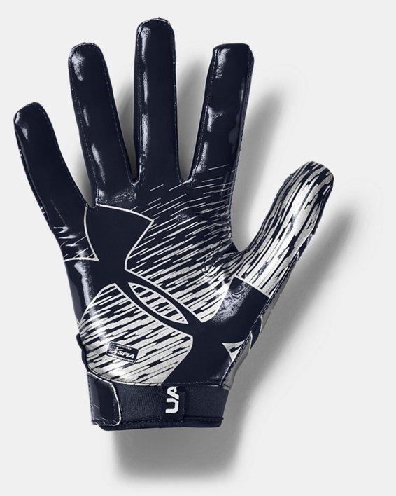Men's UA F7 Football Gloves, Navy, pdpMainDesktop image number 1
