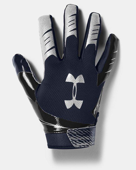 Men's UA F7 Football Gloves, Navy, pdpMainDesktop image number 0