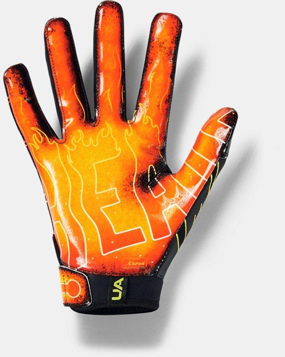 Men's UA F7 Novelty Football Gloves, Black, pdpMainDesktop image number 1