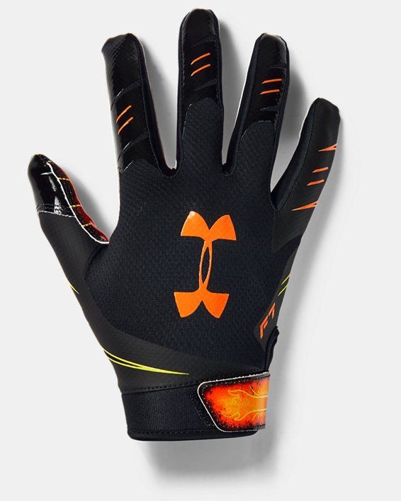 Men's UA F7 Novelty Football Gloves, Black, pdpMainDesktop image number 0