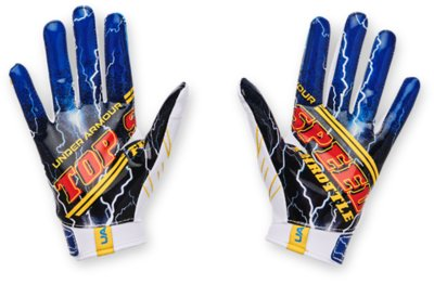 Youth Boys Under Armour F7 TOP SPEED Football Gloves Limited Edition 1351546-002