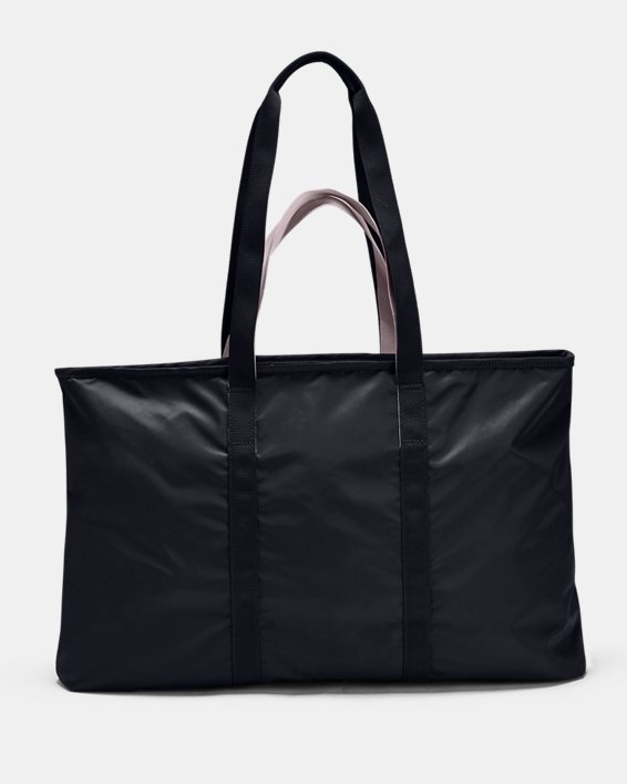 Women's UA Favorite Metallic Tote, Black, pdpMainDesktop image number 2