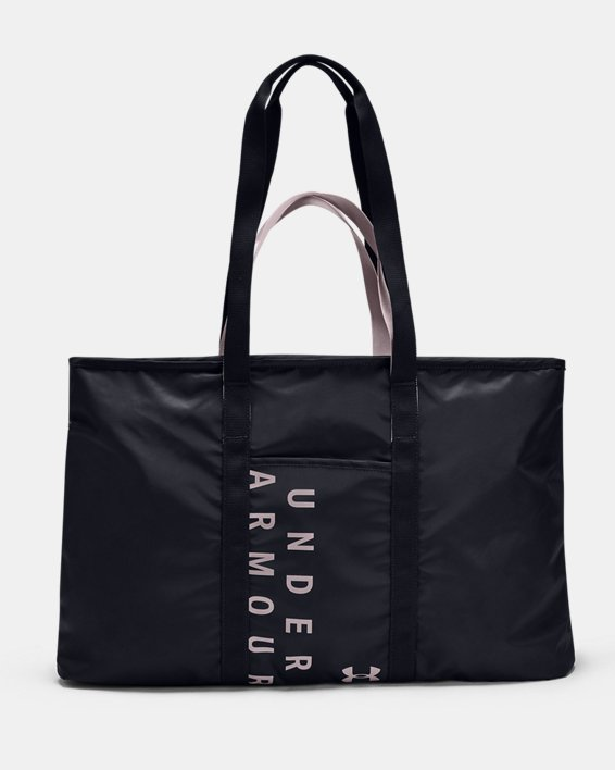 Women's UA Favorite Metallic Tote, Black, pdpMainDesktop image number 1