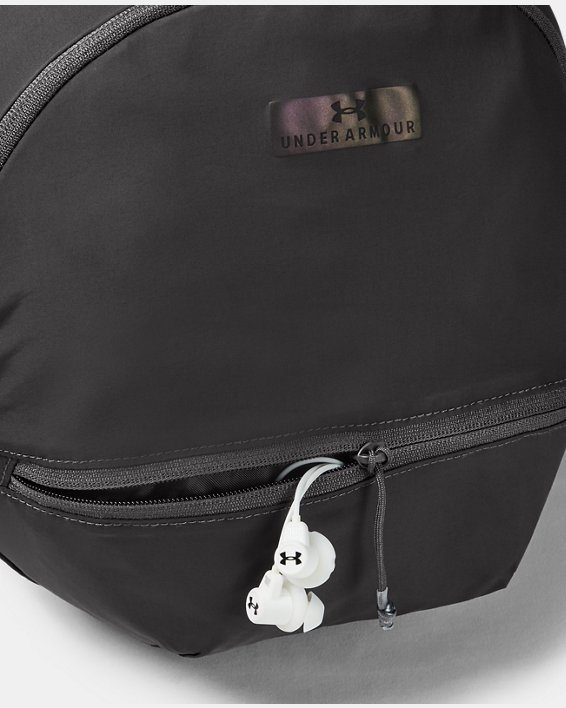 Women's UA Midi Backpack 2.0, Gray, pdpMainDesktop image number 3