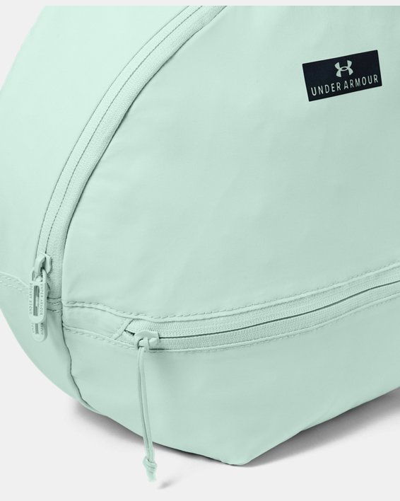 Women's UA Midi Backpack 2.0, Blue, pdpMainDesktop image number 2