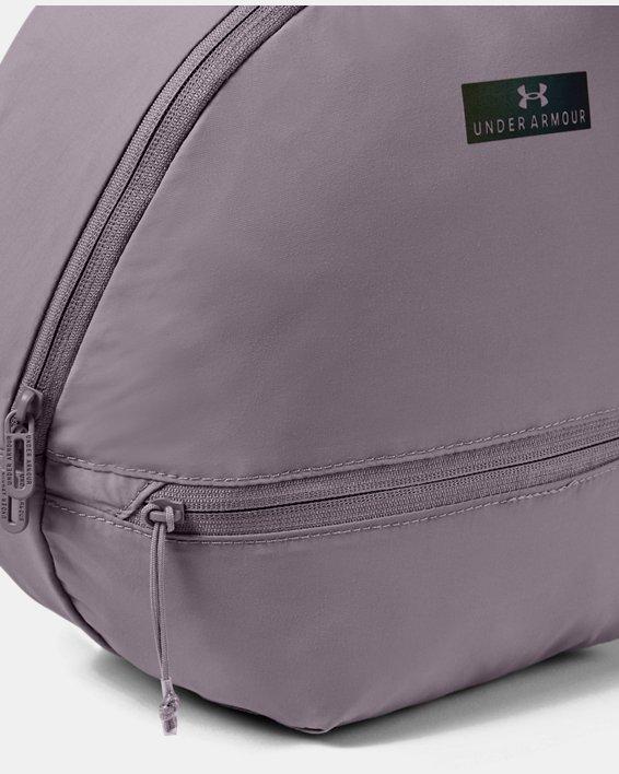 Women's UA Midi Backpack 2.0, Purple, pdpMainDesktop image number 2