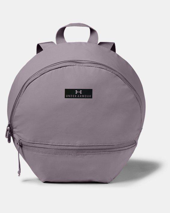 Women's UA Midi Backpack 2.0, Purple, pdpMainDesktop image number 0